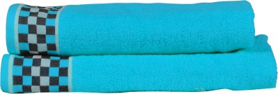 RR TEXTILE HOUSE PRESENTS LAURA HIS AND HER TOWEL SET OF 2 Cotton Bath Towel Set