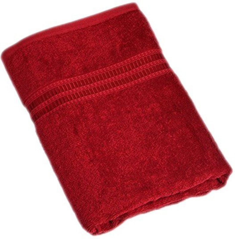 Attractivehomes Cotton Bath Towel(Mehroon)