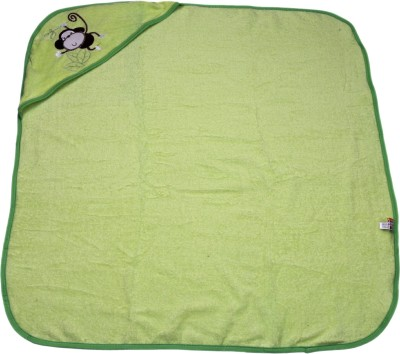 Belle Maison Embroidered Single Top Sheet Green