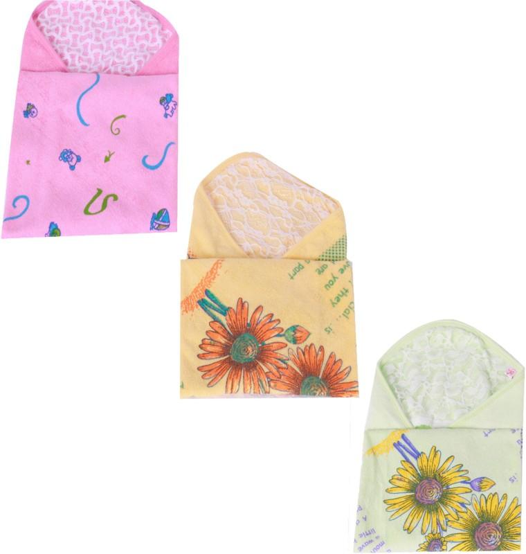 Jo Kidswear Cotton Bath Towel(Pack of 3, Multicolor)
