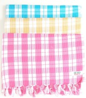 ae Cotton Bath Towel(Pack of 3, Multicolor)