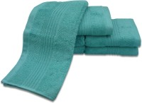 Divine Overseas Cotton Hand Towel Set(Pack of 6, Green)