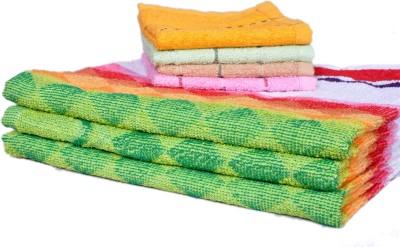 Xy Decor Cotton Bath & Hand Towel Set