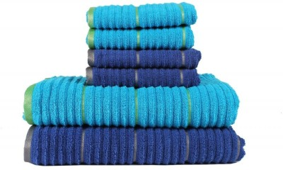 Casa Copenhagen Set of Towels, Bath Towel, Hand Towel