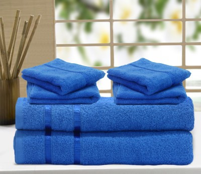Excel Bazaar Cotton Bath & Hand Towel Set