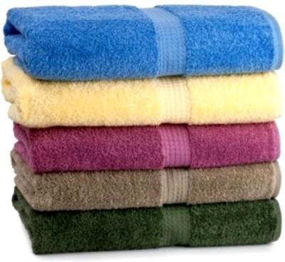 bisno Love Touch Cotton Bath Towel Set