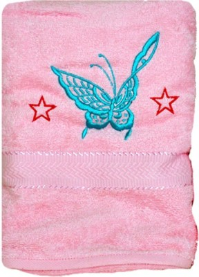Purple Circle Cotton Bath Towel