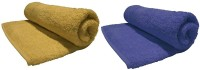 Bombay Dyeing Cotton Bath Towel(Pack of 2, Cinnamon, Lagoon)