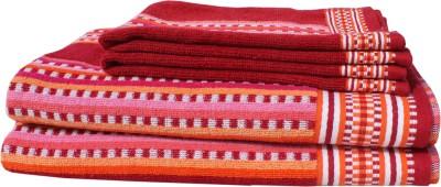 Mandhania Cotton Bath & Hand Towel Set