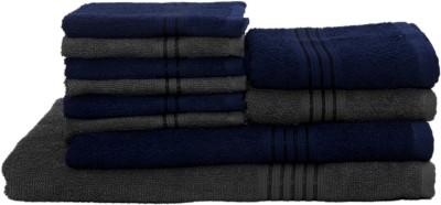 HomeStrap Cotton Bath, Hand & Face Towel Set