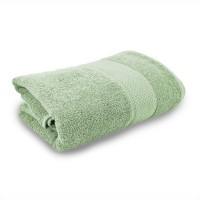 kusum creations Cotton Bath Towel(Light Green)