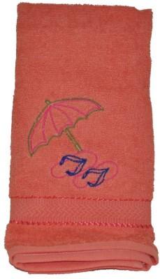 Purple Circle Cotton Hand Towel