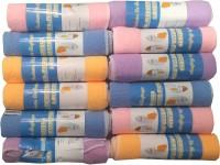 Welhouse India Cotton Face Towel Set(Multicolor)
