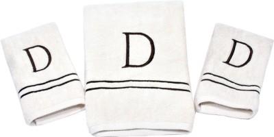 Divine Overseas Cotton Terry Bath & Hand Towel Set