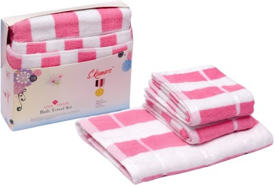 Skumars Love Touch Cotton Bath & Hand Towel Set