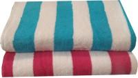 Welhouse India Cotton Bath Towel(Multicolor)