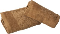Sassoon Cotton Hand Towel(Pack of 2, Brown)