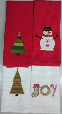 New Delux Cotton Hand & Face Towel Set