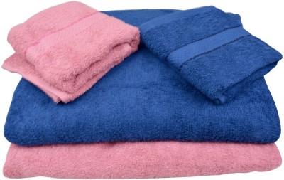 The Fancy Mart Cotton Bath & Hand Towel Set