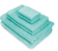 Swiss Republic Cotton Bath, Hand & Face Towel Set(Pack of 6, Ice Blue, Ice Blue)
