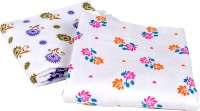 Sathiyas Cotton Bath Towel(Pack of 2, White)