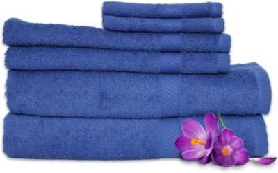 Welhome by Welspun Cotton Bath, Hand & Face Towel Set