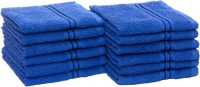 HomeStrap Cotton Face Towel Set(Pack of 12, Blue)