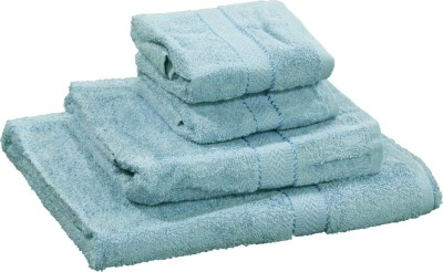 R home Cotton Terry Bath, Hand & Face Towel Set