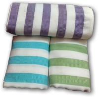 Cotton Colors Cotton Bath Towel, Set of Towels(Pack of 3, Multicolor)