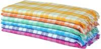 Bagrastore Cotton Hand Towel(Pack of 6, Multicolor)