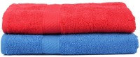 Shopping Store Cotton Bath Towel(Pack of 2, mulitecolor)