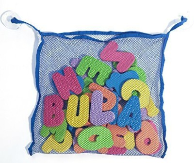 Bula Baby Organizer with 26 Letters and 10 Numbers Bath Toy
