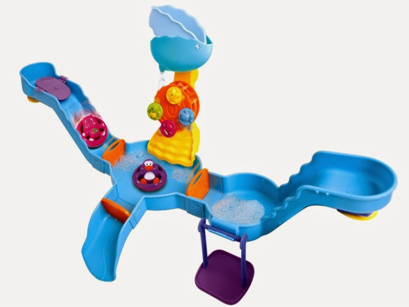 B Kids Tub Time Water Park Playset Bath Toy(Multicolor)