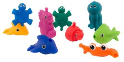 Sassy Snap and Squirt Sea Creatures Bath Toy