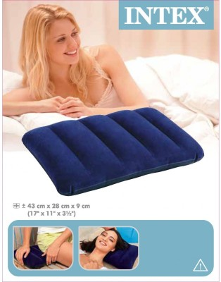 Intex INFLATABLE PILLOW - 68672NP (17IN X 11IN X 3.5IN) Bath Toy