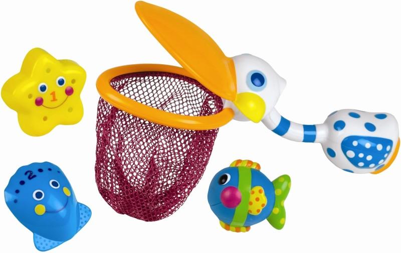 Sassy Pelican Net Bath Toy(Multicolor)
