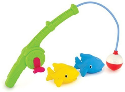 Munchkin Gone Fishin, Bath Toy Bath Toy(Multicolor)