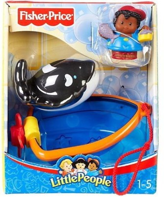 Fisher-Price People Whale Watching With Michael Bath Toy