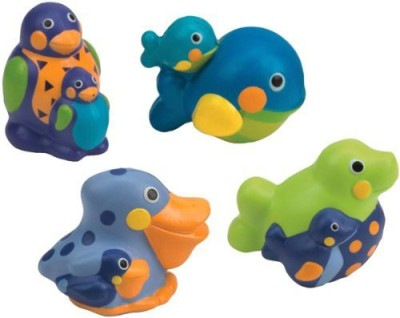 Sassy Squirting Sea Creatures Bath Toy
