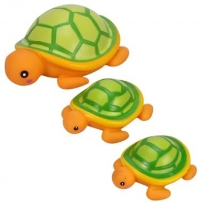 Mee Mee Bath Toy Turtle Pack of 3 Bath T...