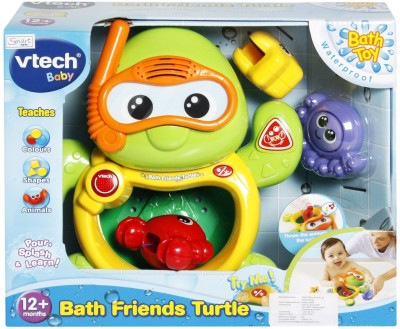 Vtech Bath Friends - Turtle, Octopus, Starfish, Crab Bath Toy