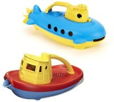 Green Toys Submarine & Tug Boat Bath Toy...