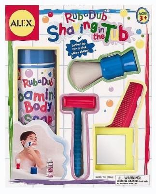 ALEX Toys Rub a Dub Shaving in the Tub Shaving Kit Bath Toy