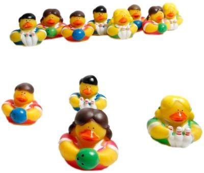 Fun Express Bowling Rubber Ducks Bath Toy