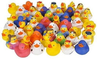 Rhode Island Novelty Assorted Rubber Ducks Bath Toy