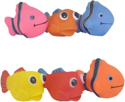 Babysid Collections BATH/SQUEEZE TOYS - FISHY Bath Toy