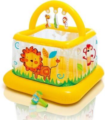 Intex SOFT-SIDES LIL BABY GYM - 48473NP (46IN X 46IN X 46IN) Bath Toy