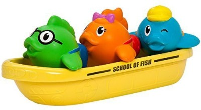 Munchkin School of Fish Bath Toy(Multicolor)