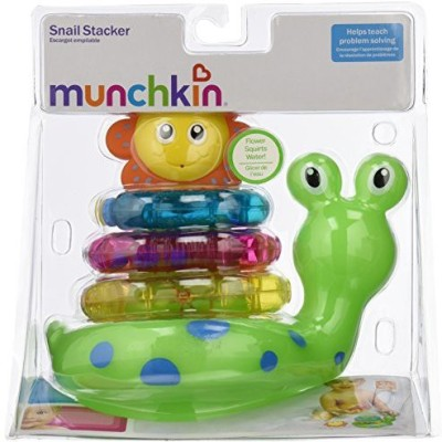 Munchkin Snail Stacker Bath Toy(Multicolor)
