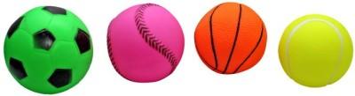 Kidzvilla Squeeze Balls2228 toy Pack 4 Bath Toy